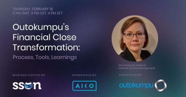 Outokumpu's financial close transformation webinar