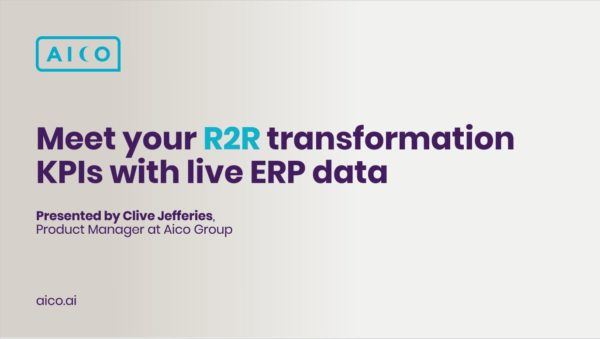 Meet your R2R transformation KPIs